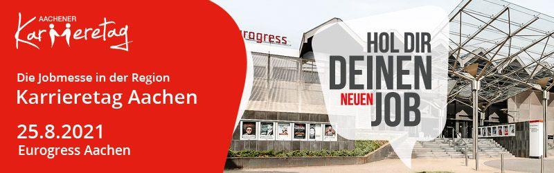 Aachener Karrieretag 2021 Banner