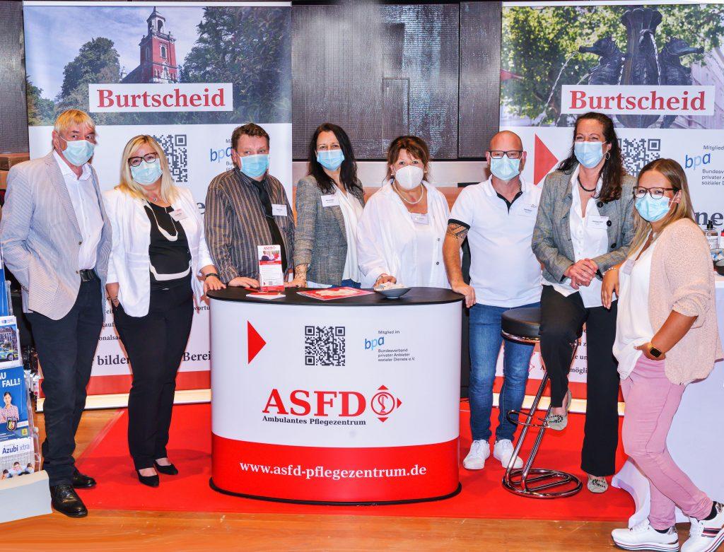 ASFD-Mannschaft Aachener Karrieretag 2021